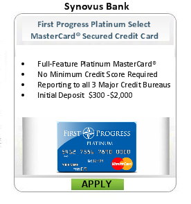 credit cards second chance