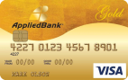 Secured Card Applied Bank Gold